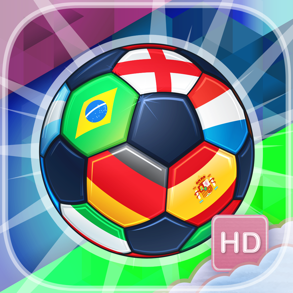 Brazil Soccer Punch - HD - PRO - Match Up Three Footballs In A Row Puzzle Game